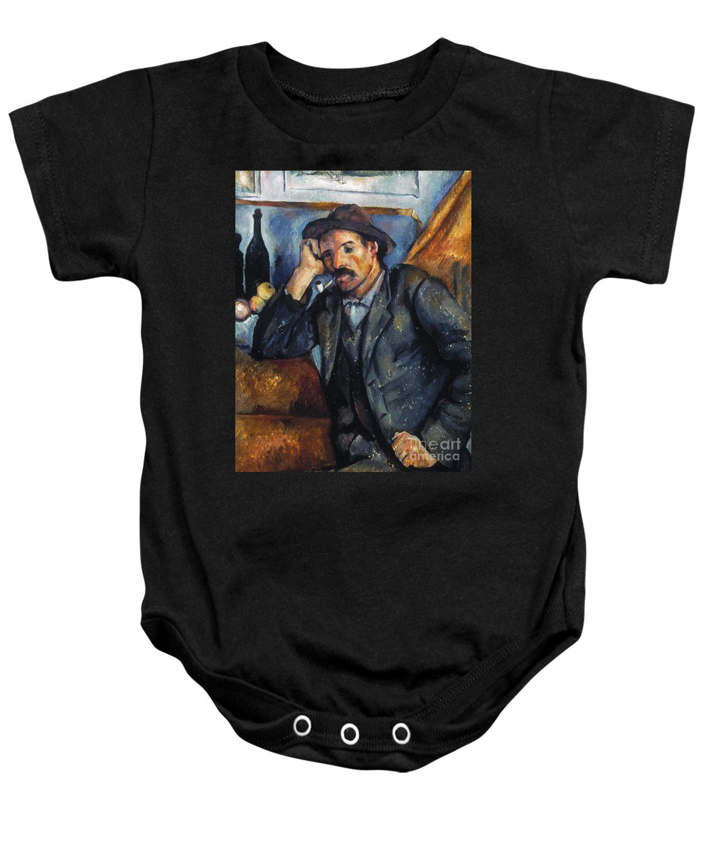 1900 Baby Onesie featuring the photograph Cezanne: Pipe Smoker, 1900 by Granger