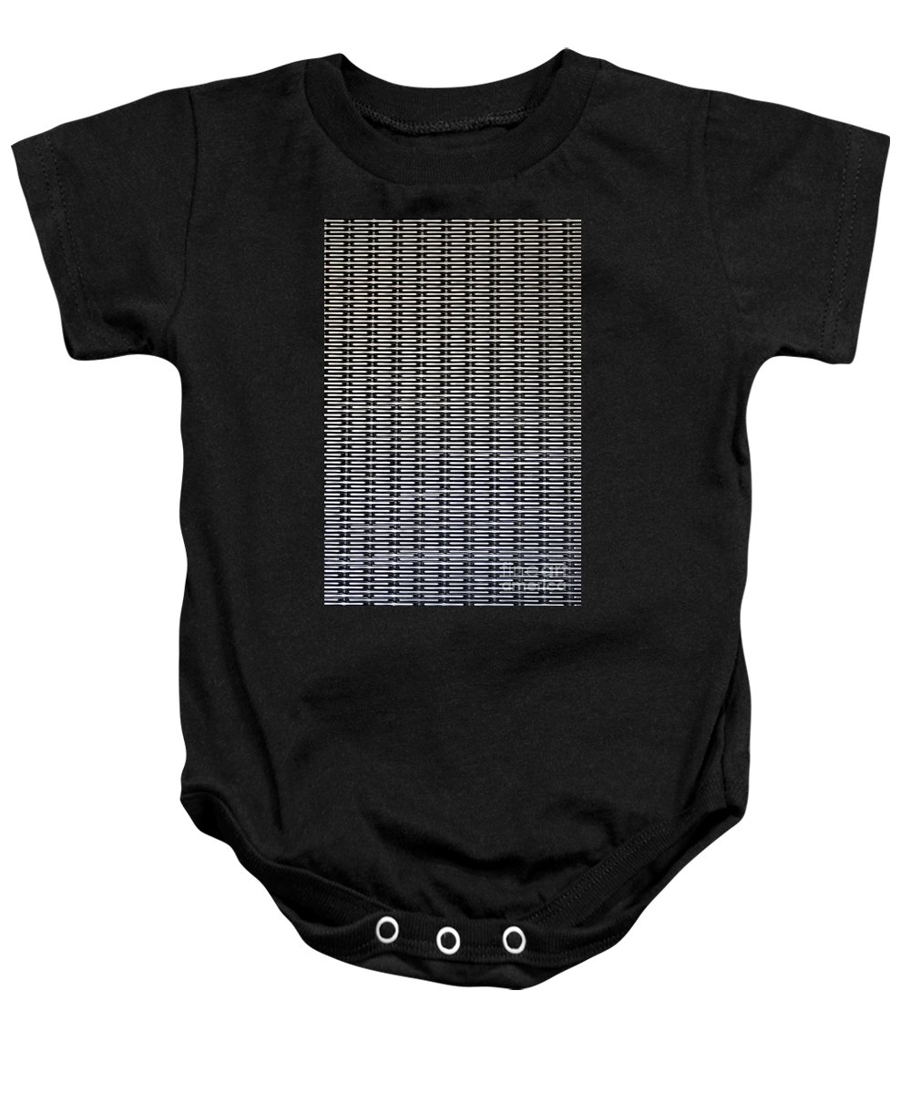 Clay Baby Onesie featuring the photograph Chain by Clayton Bruster