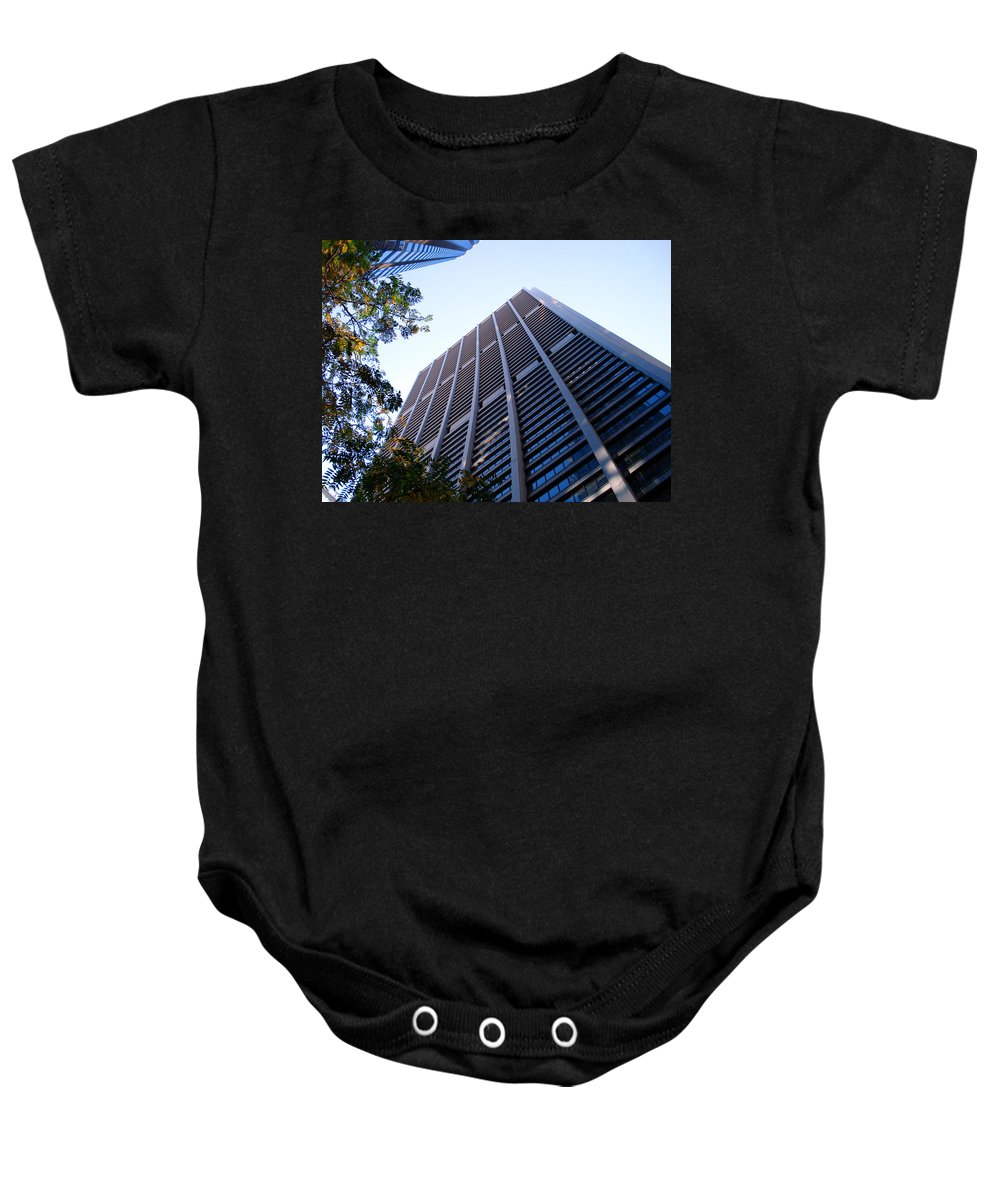 Chicago Baby Onesie featuring the photograph Chase Tower Chicago by DB Artist