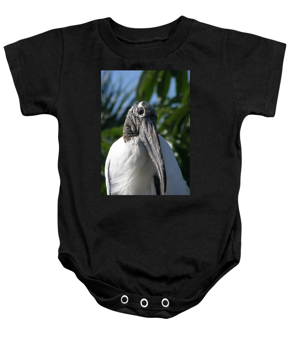 Bird Baby Onesie featuring the photograph Cheese by Kimberly Mohlenhoff