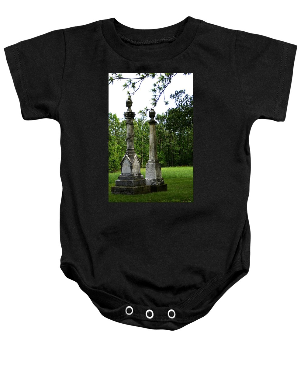 Landscape Baby Onesie featuring the photograph Chess Game by Rachel Christine Nowicki