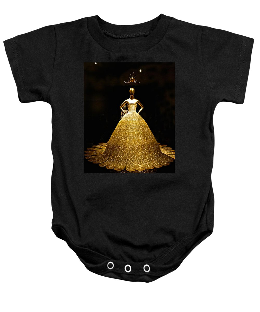 China Baby Onesie featuring the photograph China 2 Antiquities Collection by Saundra Myles