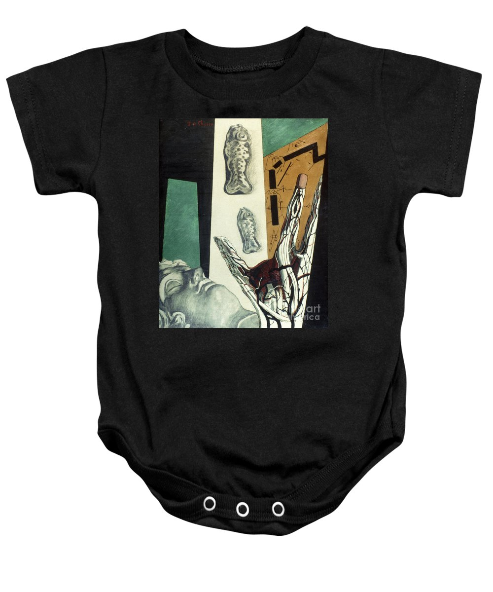 1914 Baby Onesie featuring the photograph Chirico: Arch, 1914 by Granger