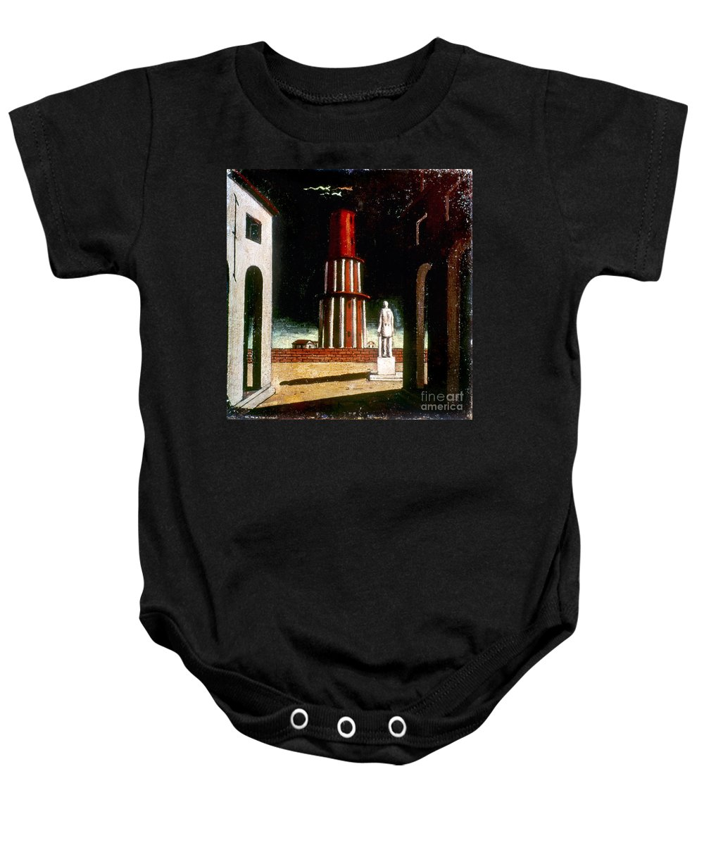 1914 Baby Onesie featuring the photograph Chirico: Grand Tour, 1914 by Granger