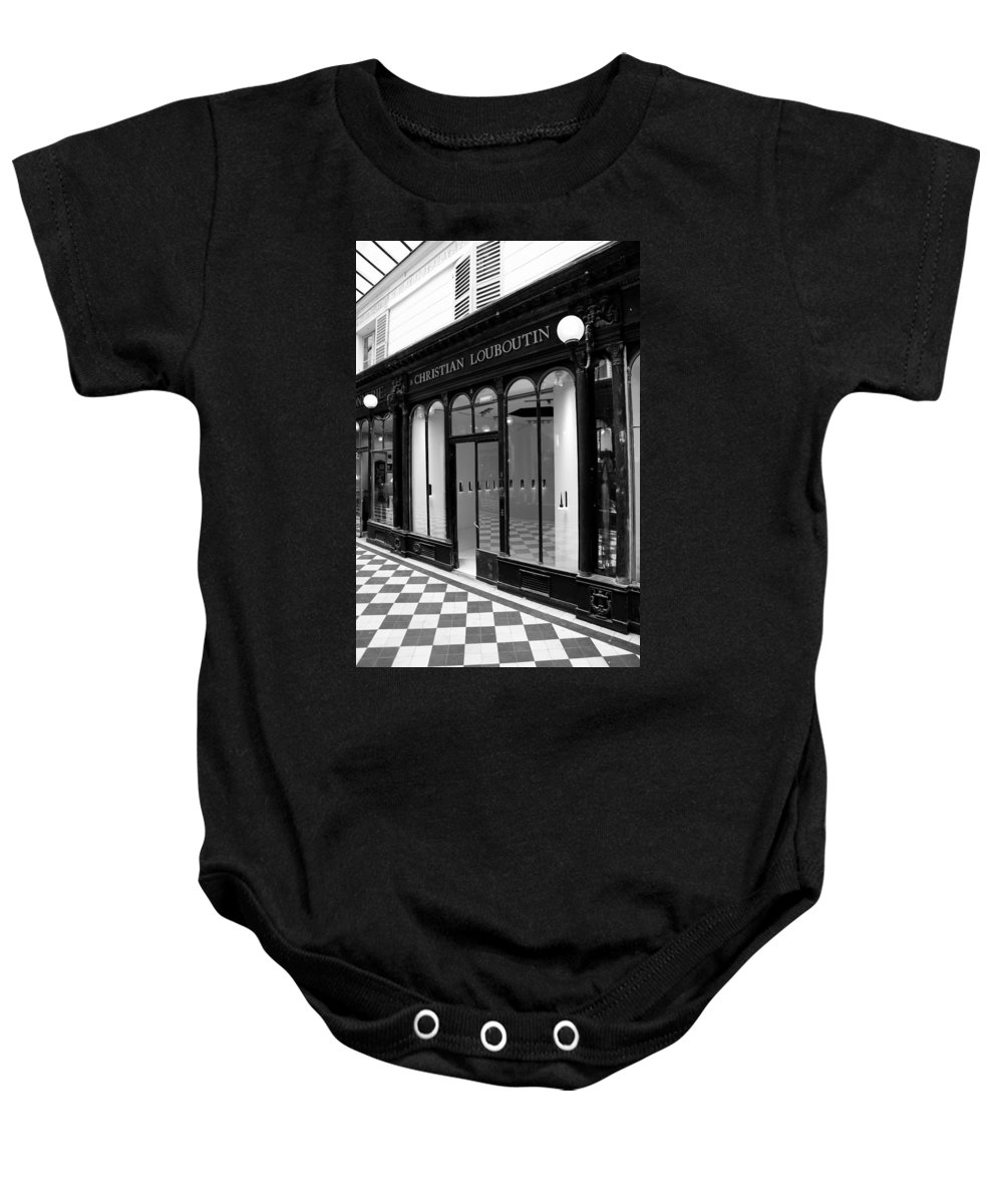 Louboutin Baby Onesie featuring the photograph Christian Louboutin 1b by Andrew Fare