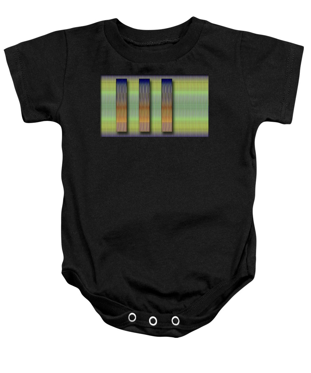 Abstract Baby Onesie featuring the photograph Cinetism - Abstract by Galeria Trompiz