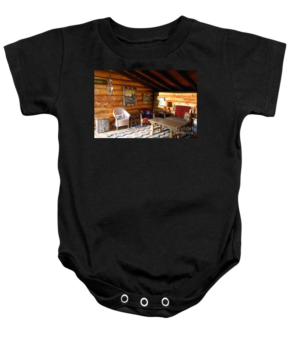 Adirondack Baby Onesie featuring the photograph Classic Adirondack by David Lee Thompson