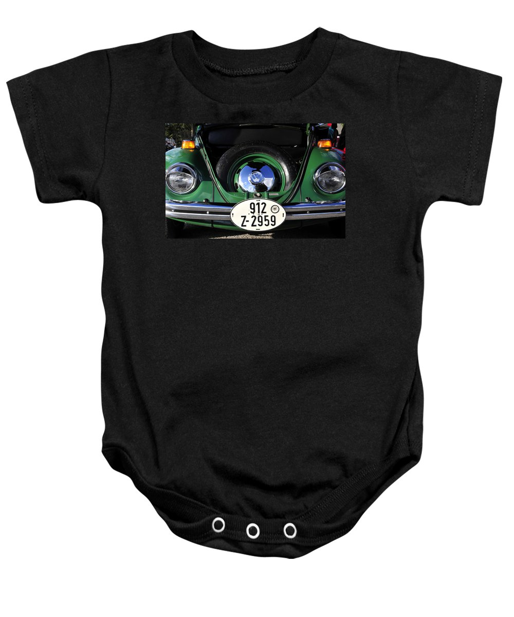Fine Art Photography Baby Onesie featuring the photograph Classic Beetle by David Lee Thompson