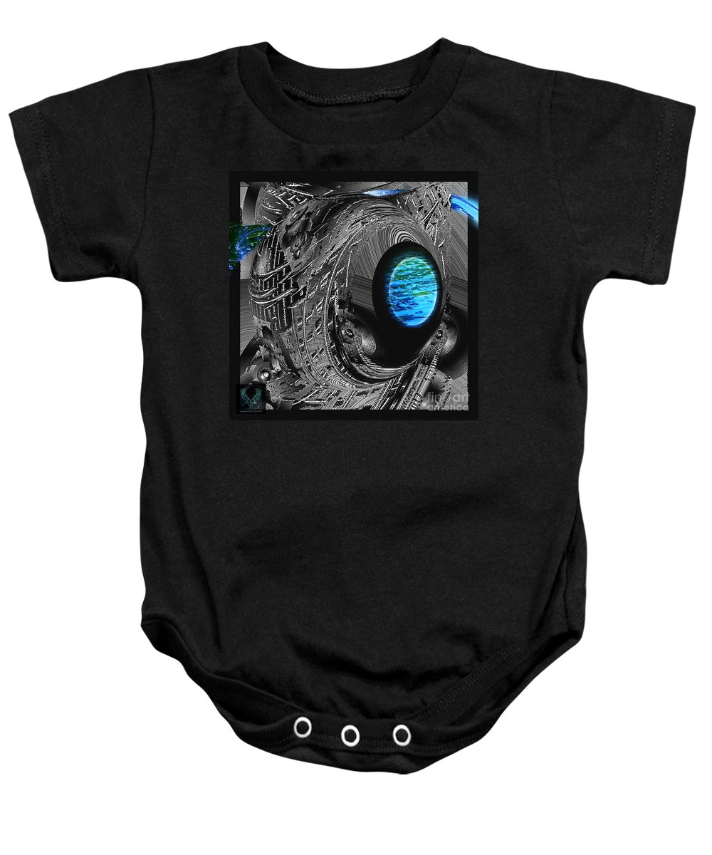 Colorful Baby Onesie featuring the photograph Clean Water Quest by Dale Crum
