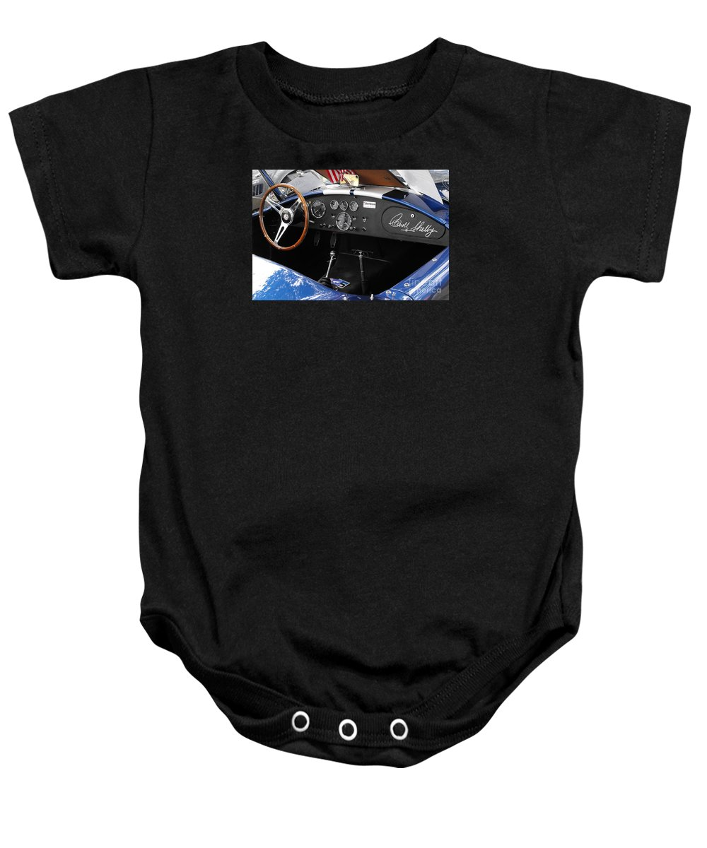 Cobra Baby Onesie featuring the photograph Cobra Dshboard by Neil Zimmerman