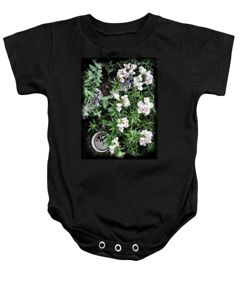 Coffee Baby Onesie featuring the photograph Coffee In The Dragon's Lair by T Cook