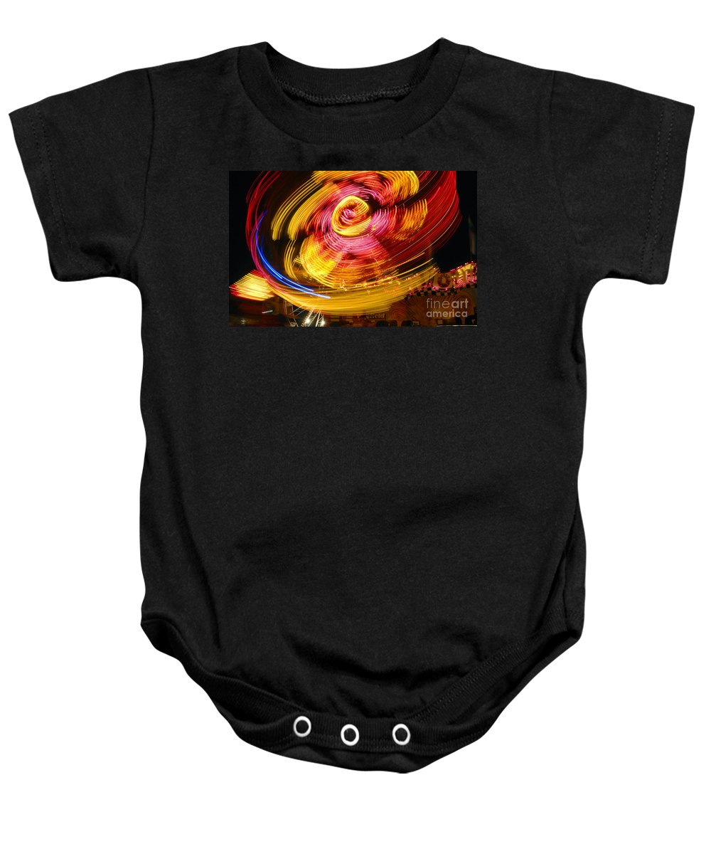 Fair Baby Onesie featuring the photograph Color Twist by David Lee Thompson