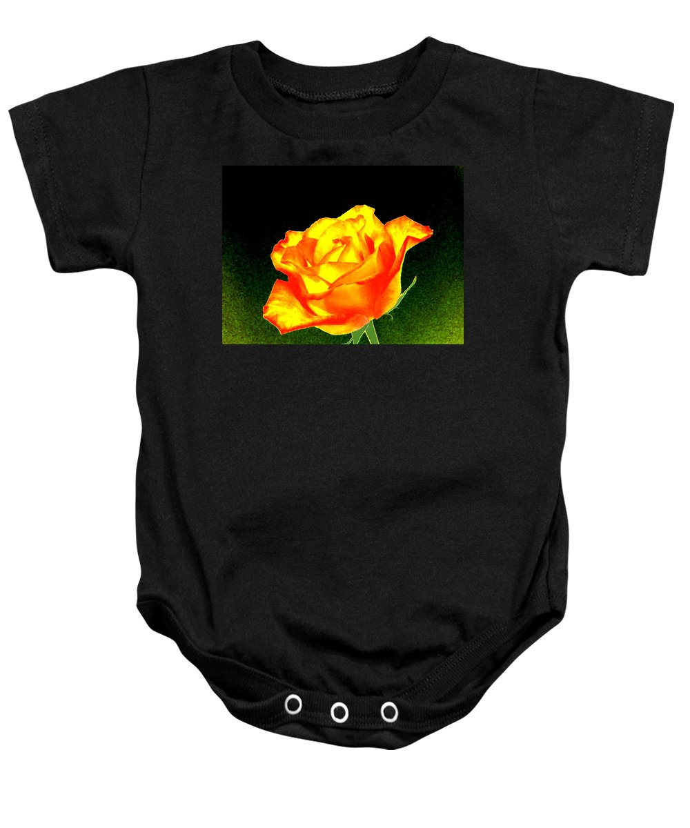 Photo Design Baby Onesie featuring the digital art Colormax 4 by Will Borden