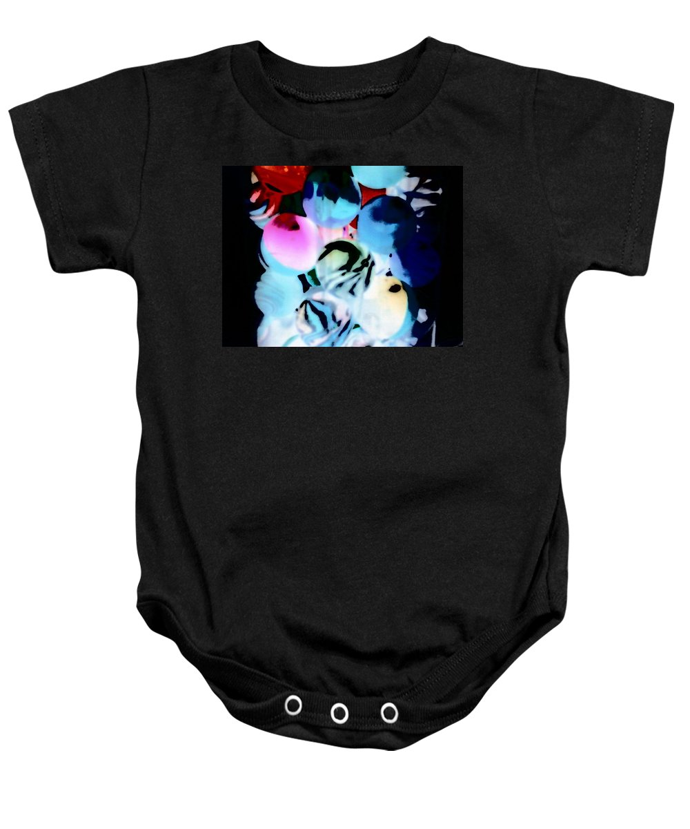 Balls Baby Onesie featuring the photograph Colors 4 by Cindy New