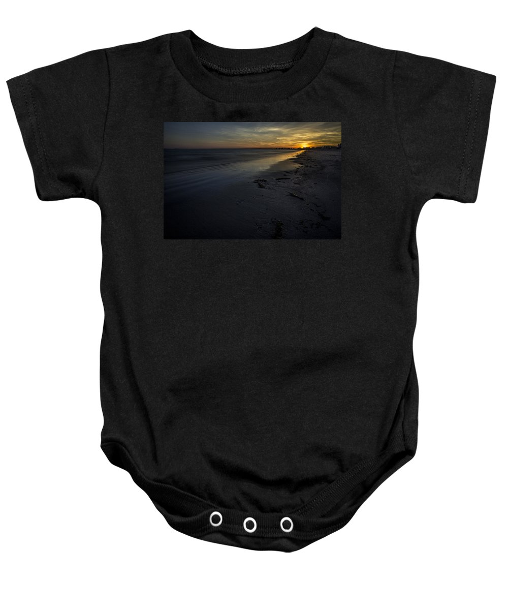 South County Baby Onesie featuring the photograph Colors Of Sunset by Billy Bateman