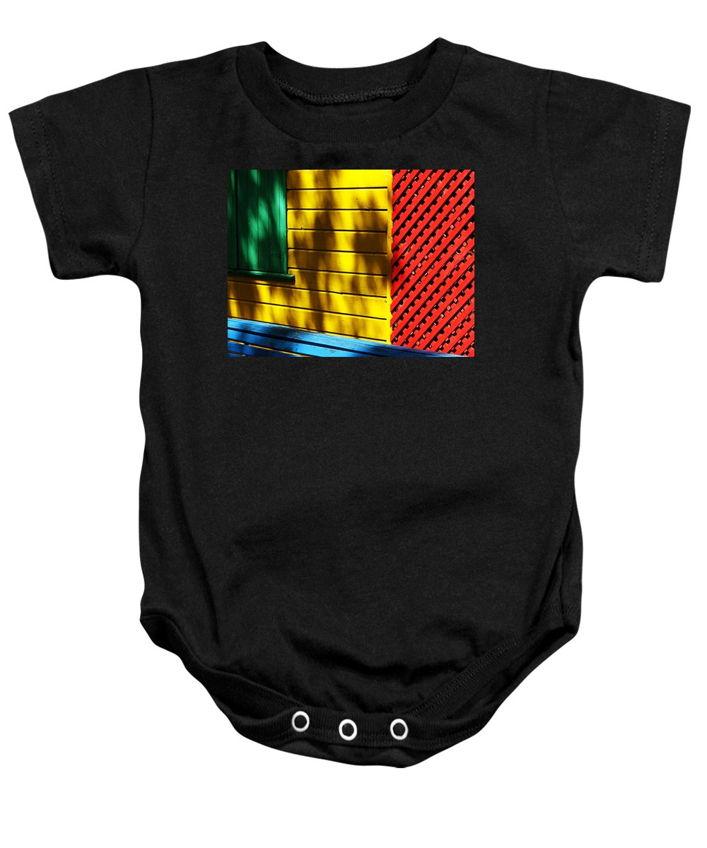Buenos Aires Baby Onesie featuring the photograph Colors by Osvaldo Hamer