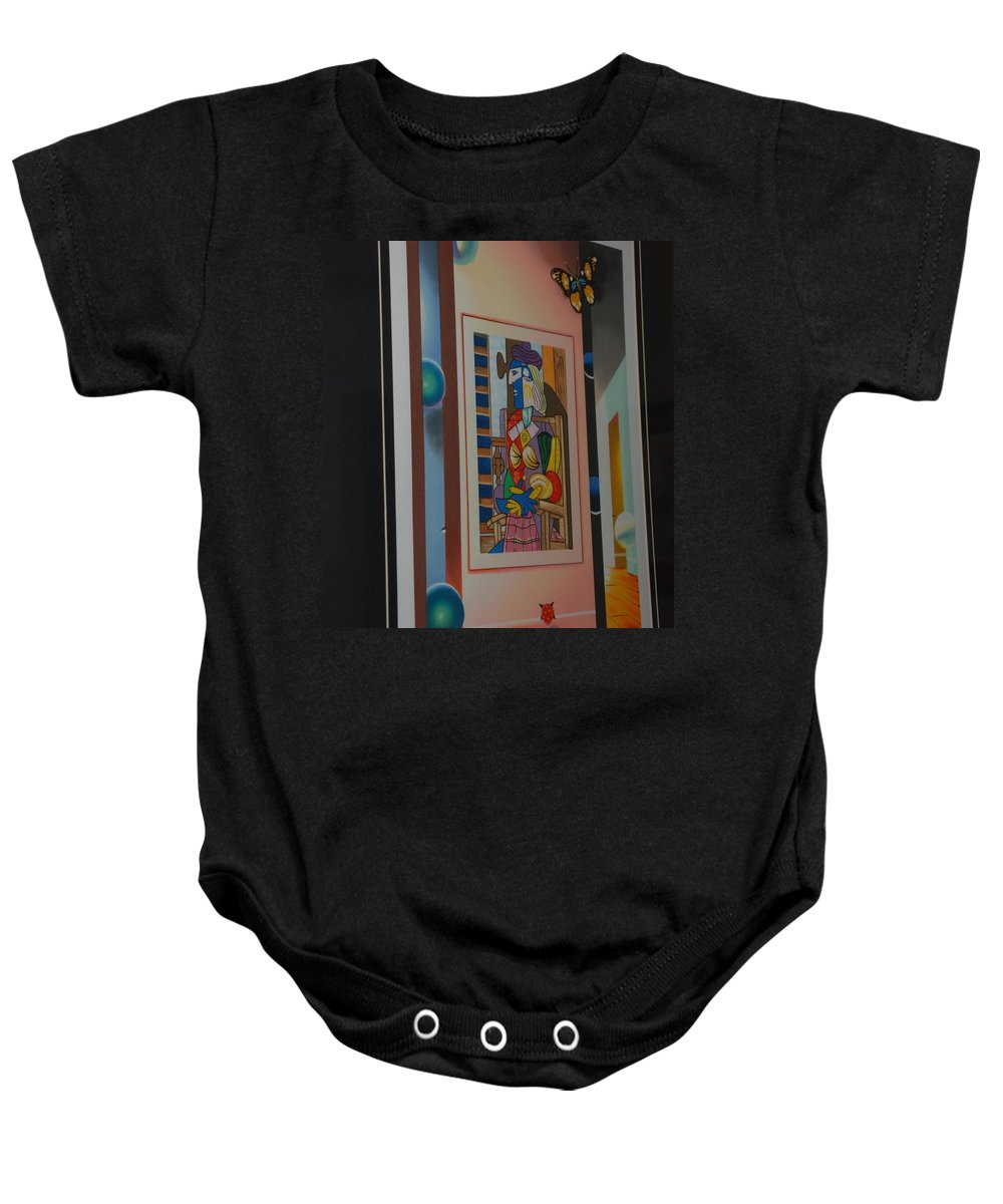 Colors Baby Onesie featuring the photograph Colors by Rob Hans