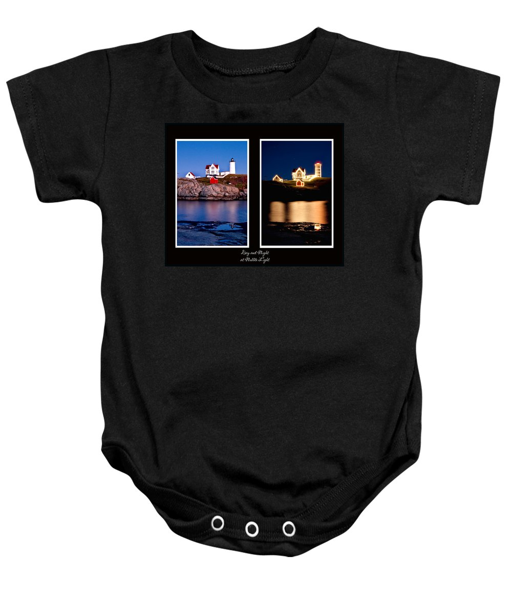 Nubble Baby Onesie featuring the photograph Combined Nubble by Greg Fortier