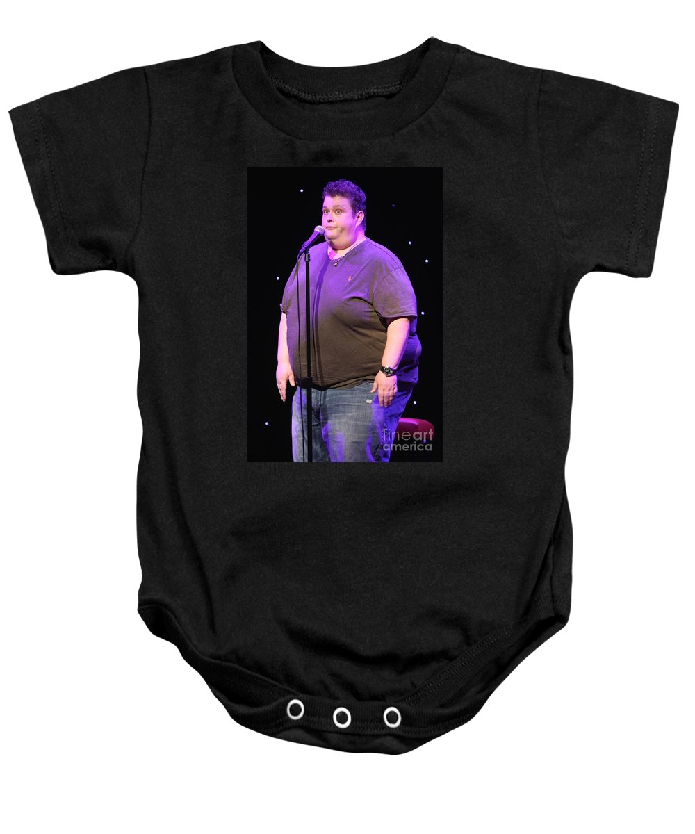 Comedian Baby Onesie featuring the photograph Comedian Ralphie May by Concert Photos