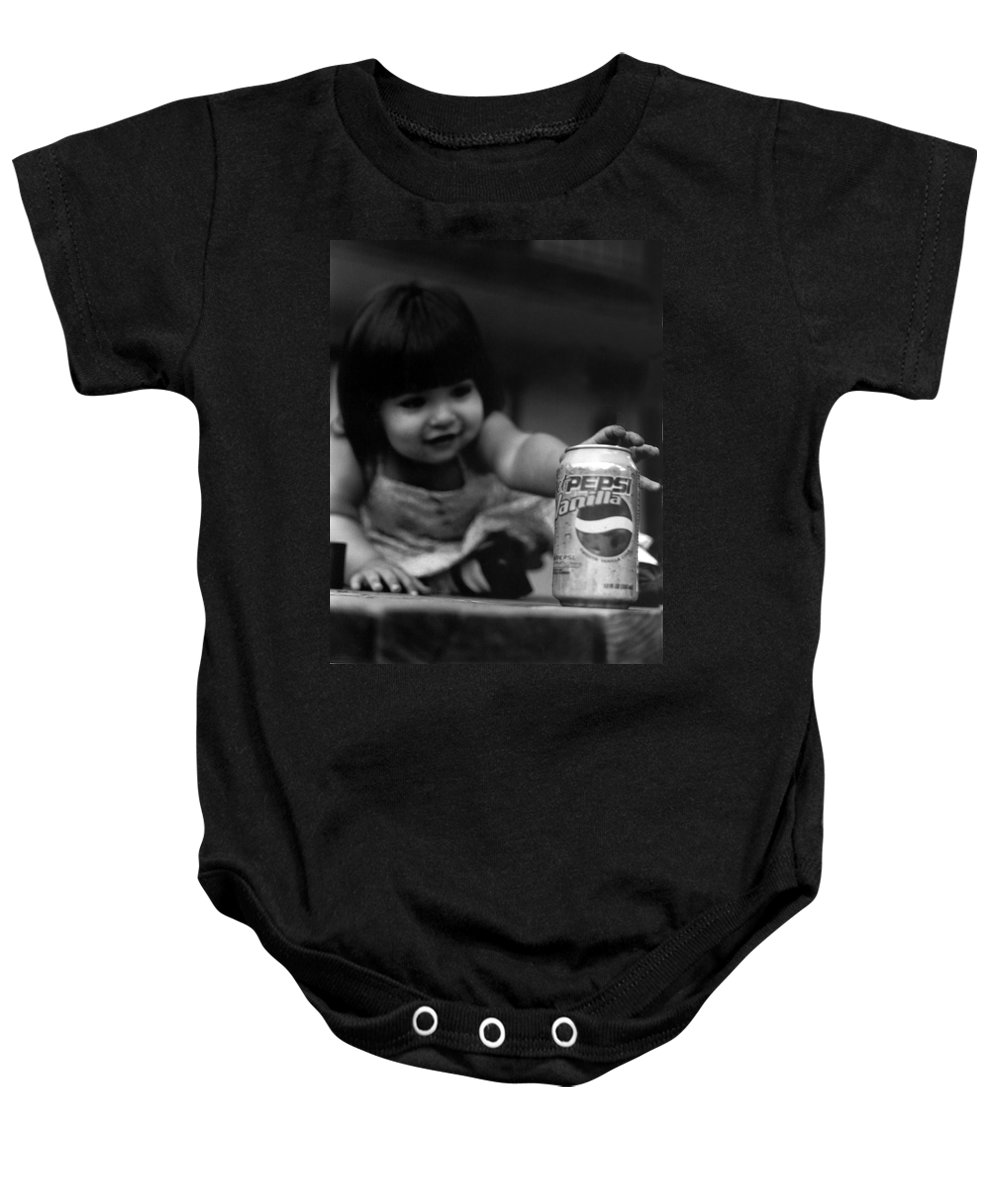 Dark Art Baby Onesie featuring the photograph Consumer by Peter Piatt