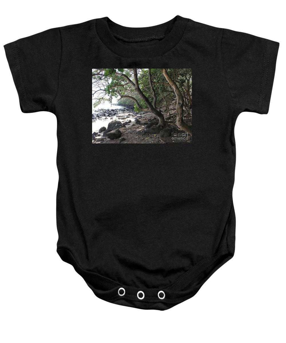 Ocean Baby Onesie featuring the photograph Cool Spot by Mary Deal