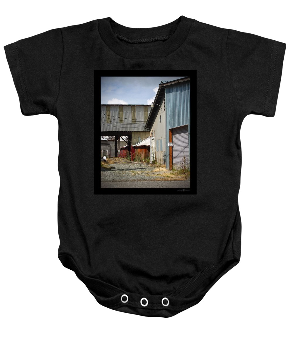 Corrugated Baby Onesie featuring the photograph Corrugated by Tim Nyberg