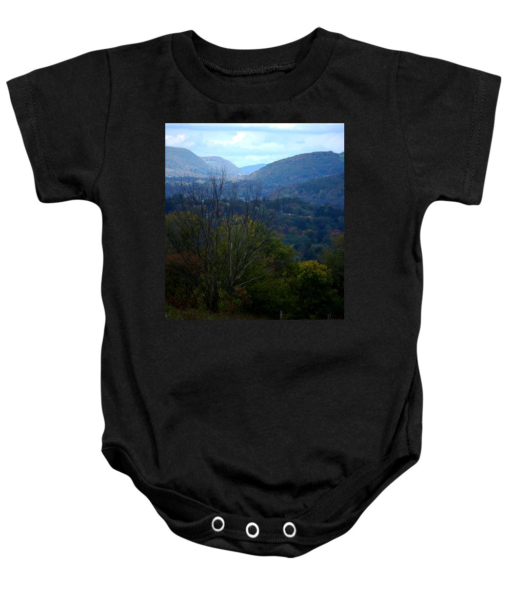 Digital Photograph Baby Onesie featuring the photograph Cortland Ny by David Lane