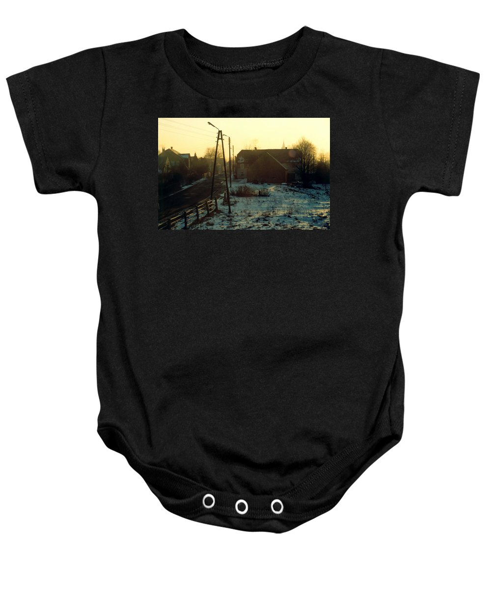 Country Baby Onesie featuring the photograph Country Morning by Marcin and Dawid Witukiewicz