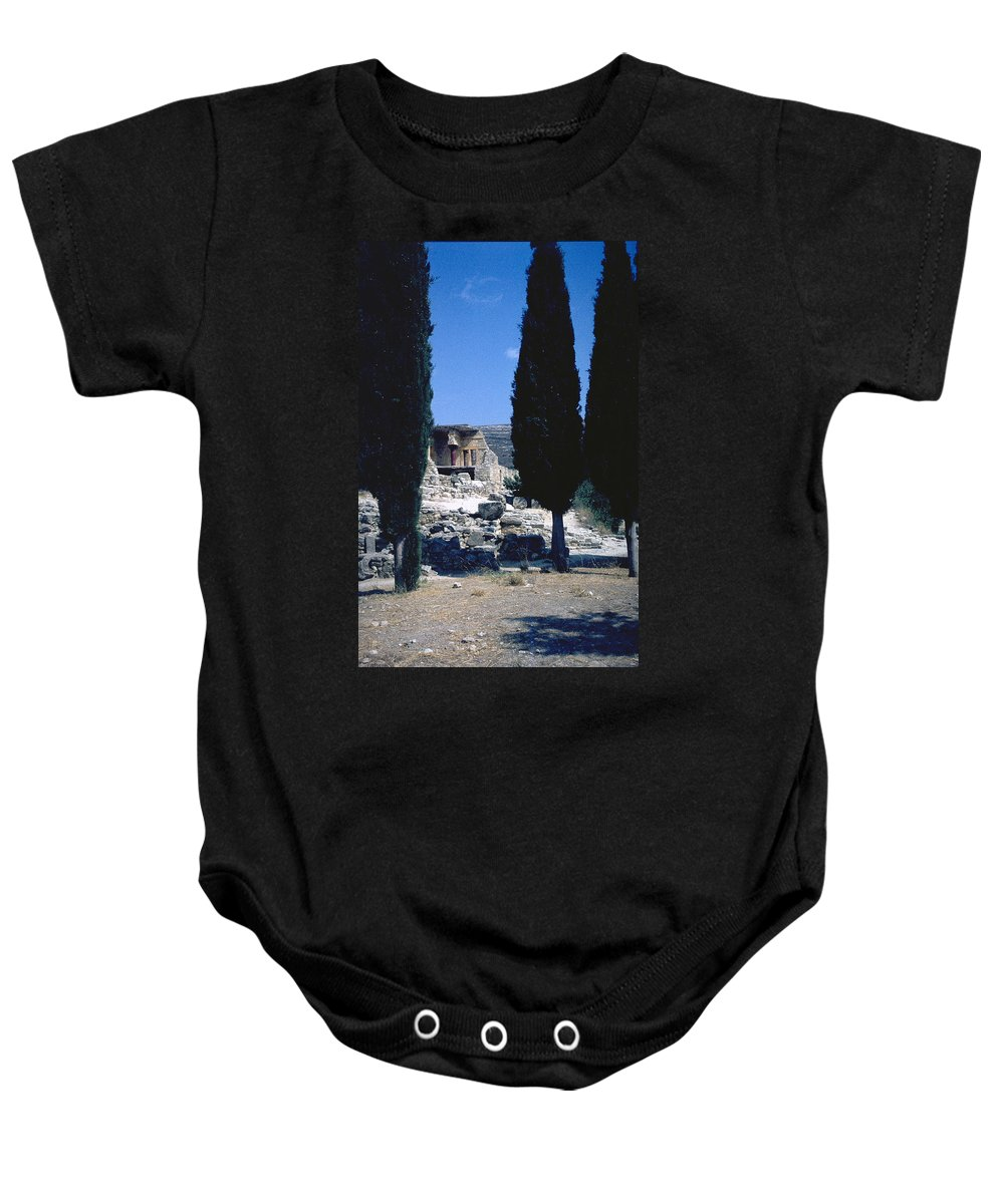 Crete Baby Onesie featuring the photograph Crete by Flavia Westerwelle