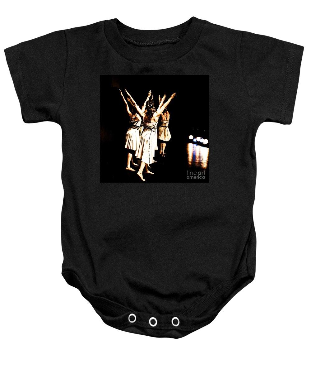 Dance Baby Onesie featuring the photograph Dance - Y by Scott Sawyer