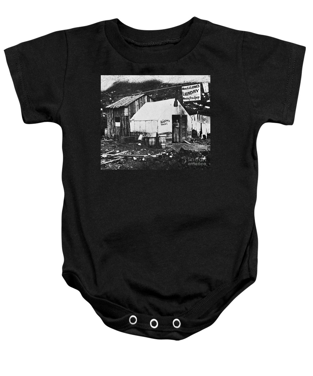 1900 Baby Onesie featuring the photograph Dawson City, C1900 by Granger