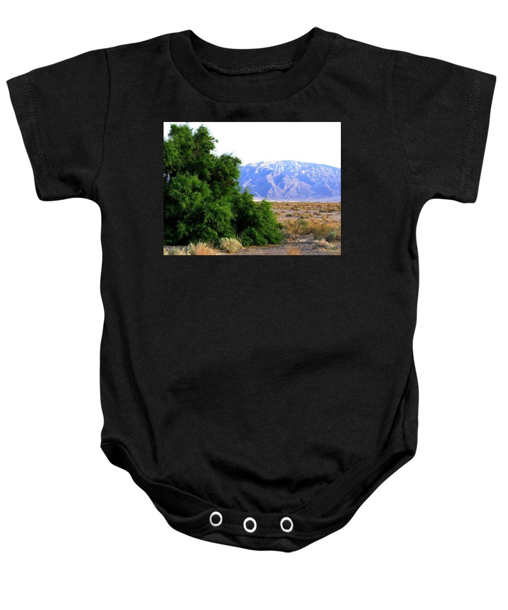 Death Valley Baby Onesie featuring the photograph Death Valley 2 by Will Borden