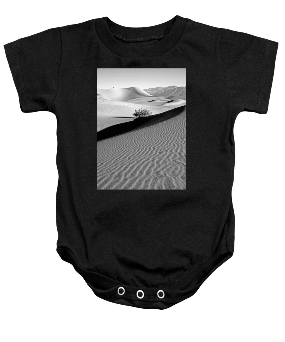 Desert Baby Onesie featuring the photograph Death Valley by Lusi Morhayim