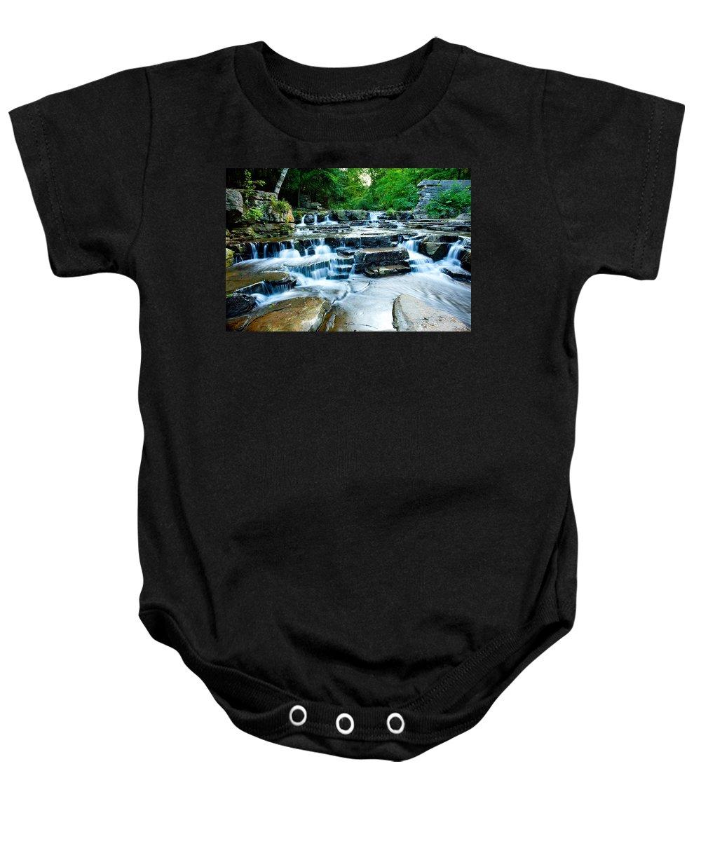 Summer Baby Onesie featuring the photograph Devils River 2 by David Heilman