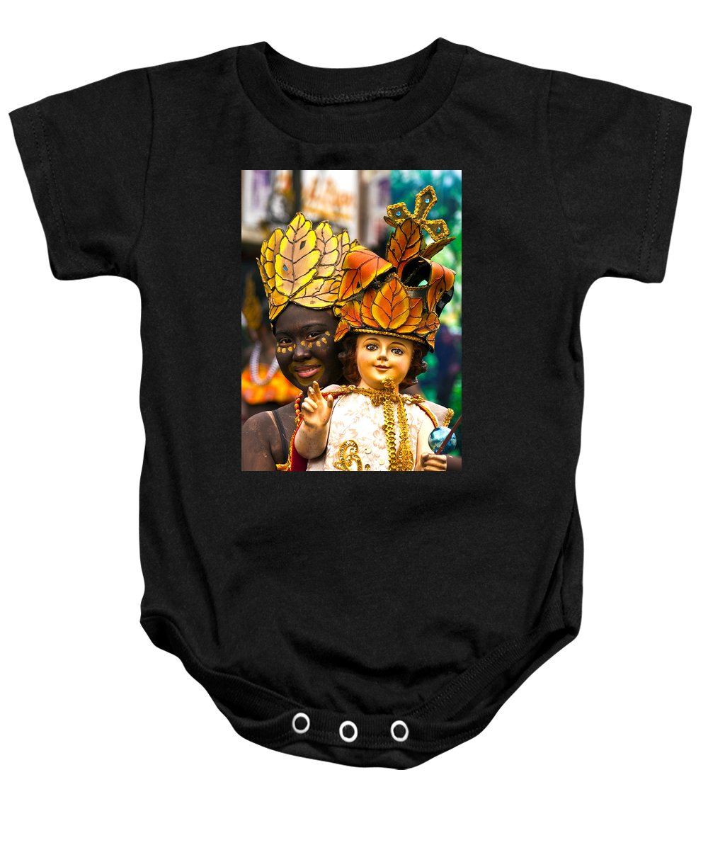 Festival Baby Onesie featuring the photograph Dinagyan3 by George Cabig