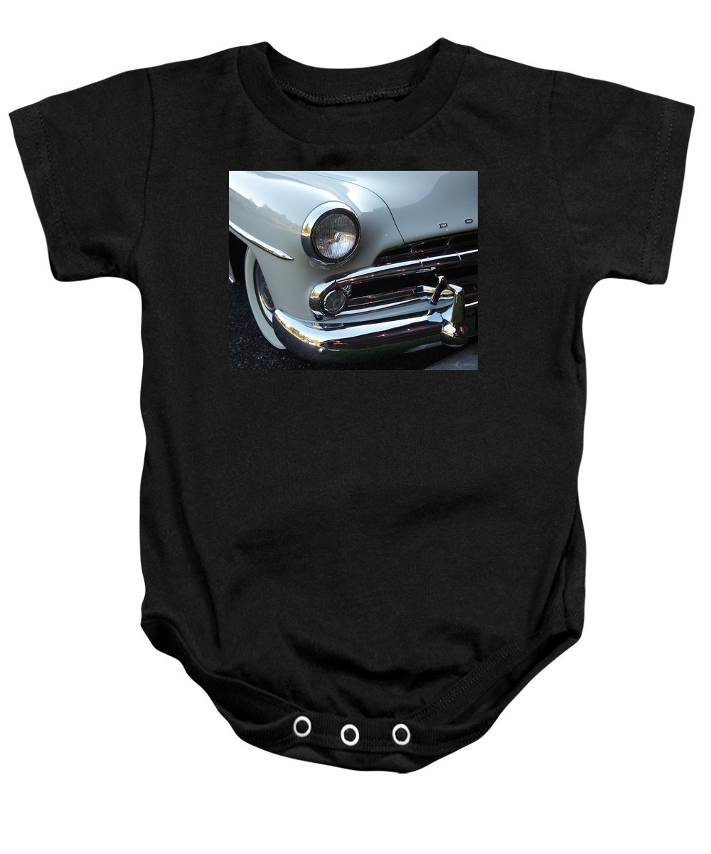 Dodge Baby Onesie featuring the photograph Dodge by Tim Nyberg