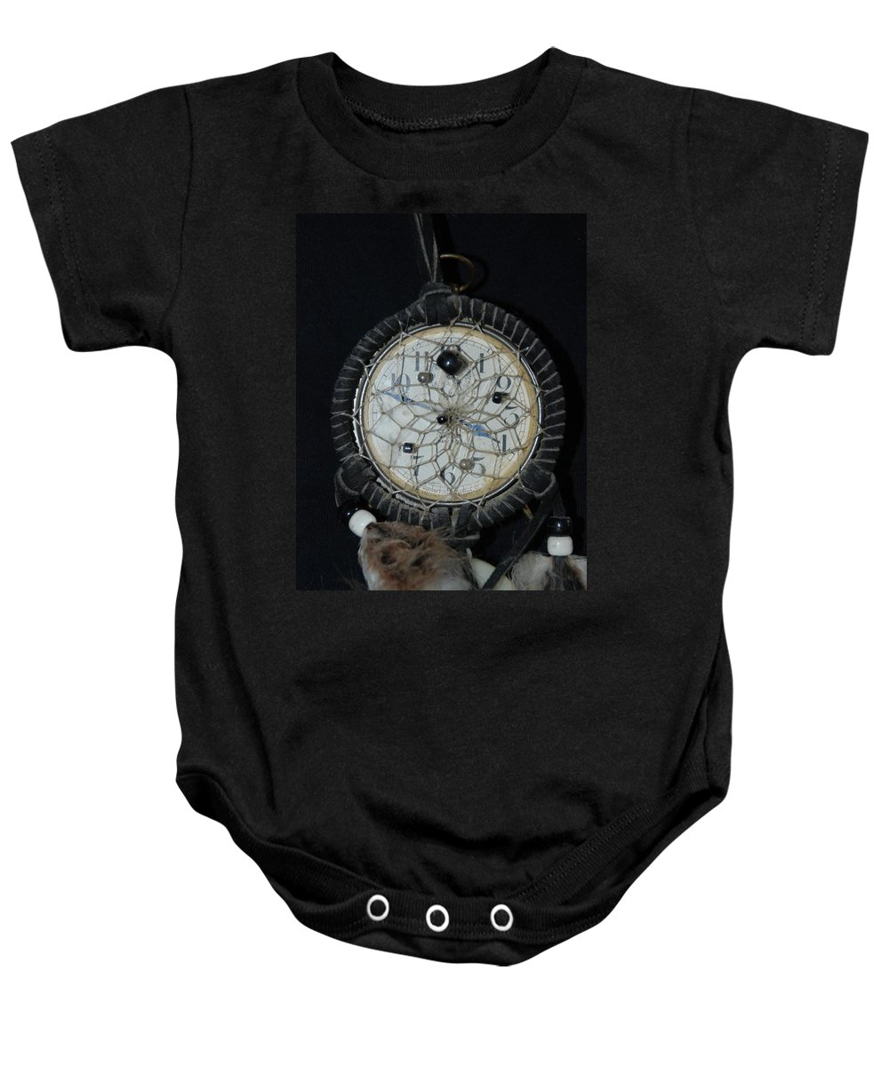 Dream Catcher Baby Onesie featuring the photograph Dream Catcher Time by Rob Hans