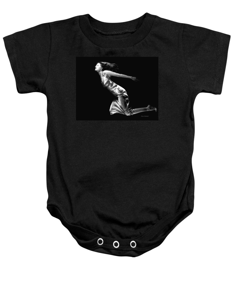 People Baby Onesie featuring the photograph Dream State by Donna Blackhall