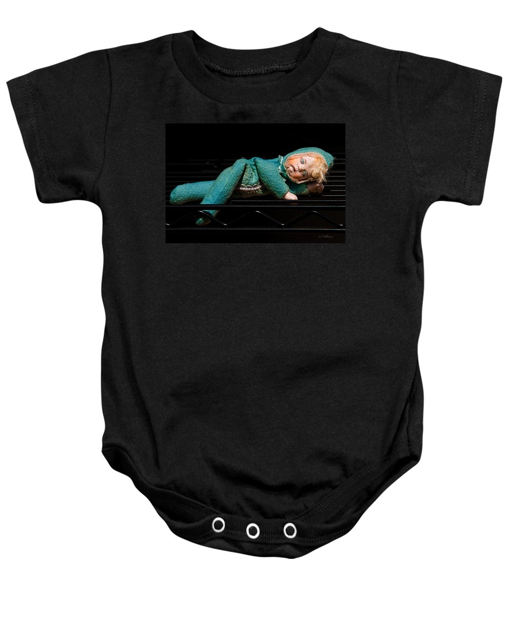 Porcelain Baby Onesie featuring the photograph Dreams Of A New Home by Christopher Holmes