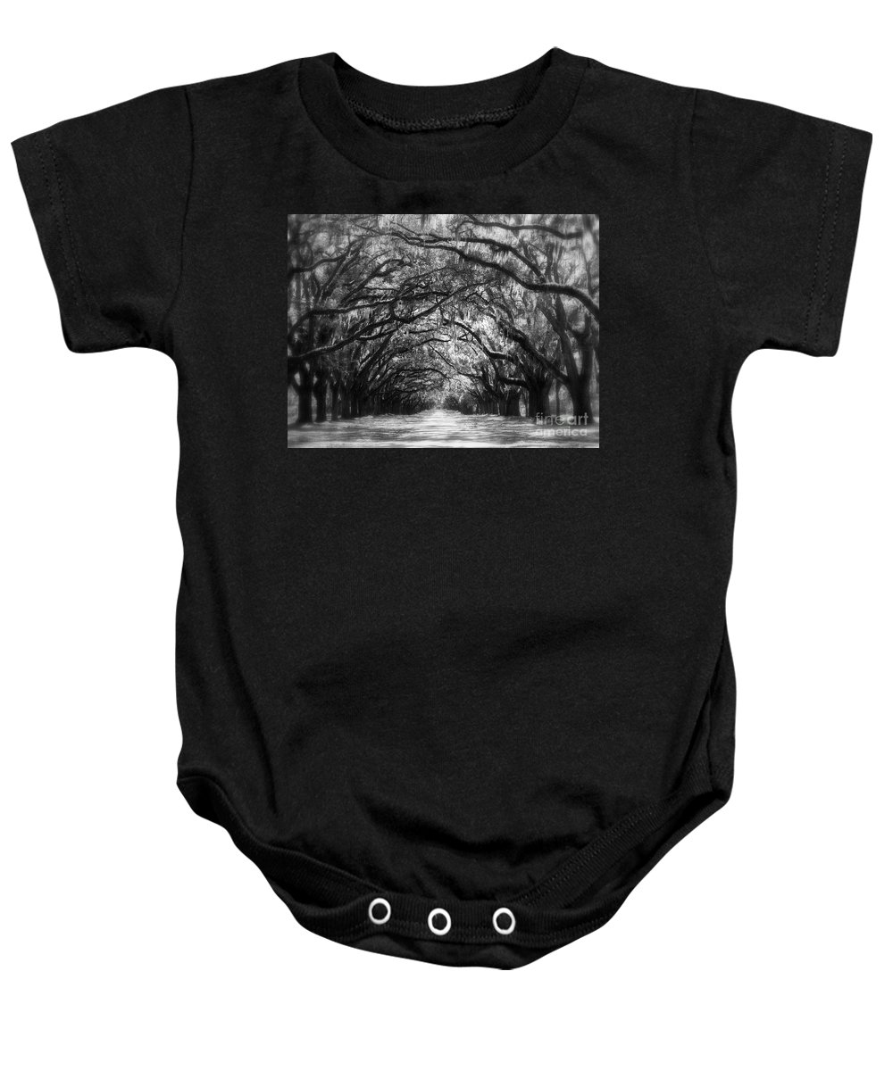 Landscape Baby Onesie featuring the photograph Dreams Of The Old South by Carol Groenen