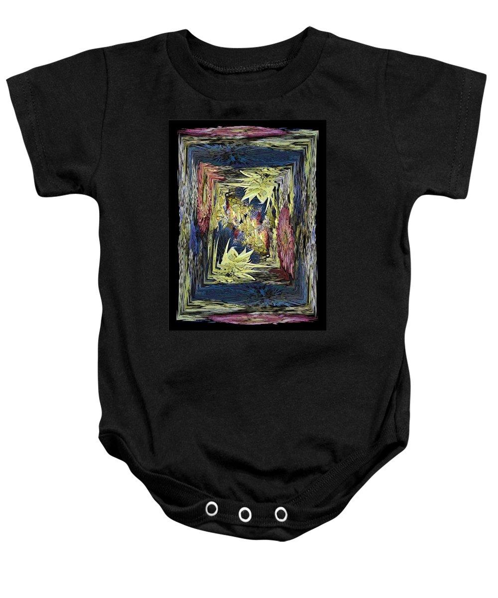Dried Baby Onesie featuring the digital art Dried 2 by Tim Allen