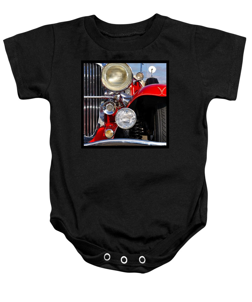 Car Baby Onesie featuring the photograph Duesenberg by Tim Nyberg