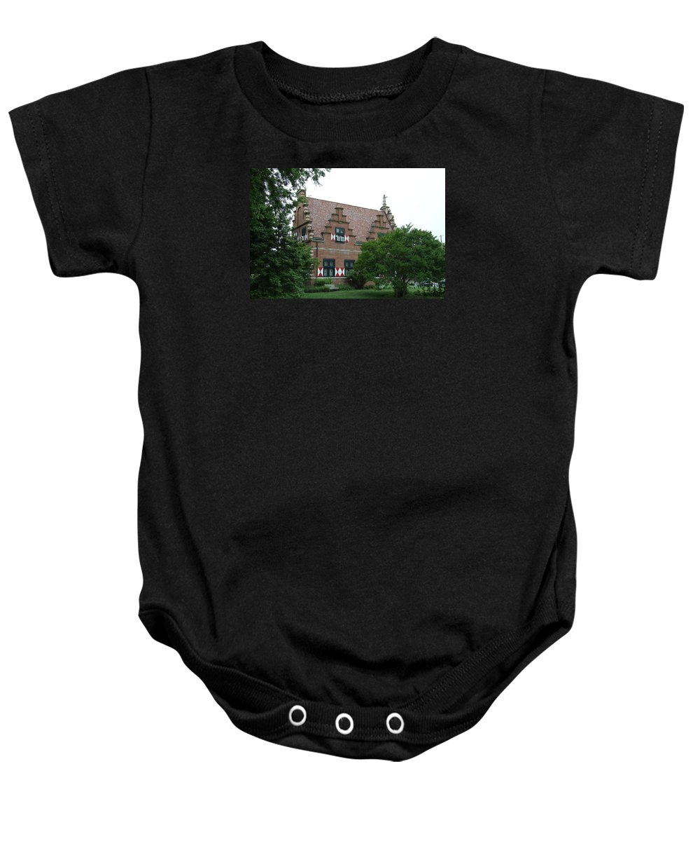 Dutch Baby Onesie featuring the photograph Dutch Building - Henlopen by Christiane Schulze Art And Photography