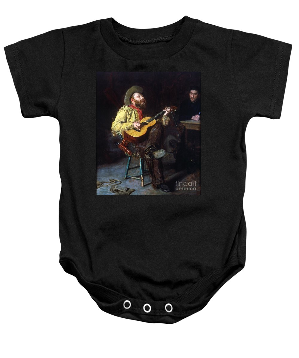1892 Baby Onesie featuring the photograph Eakins: Home Ranch, 1892 by Granger
