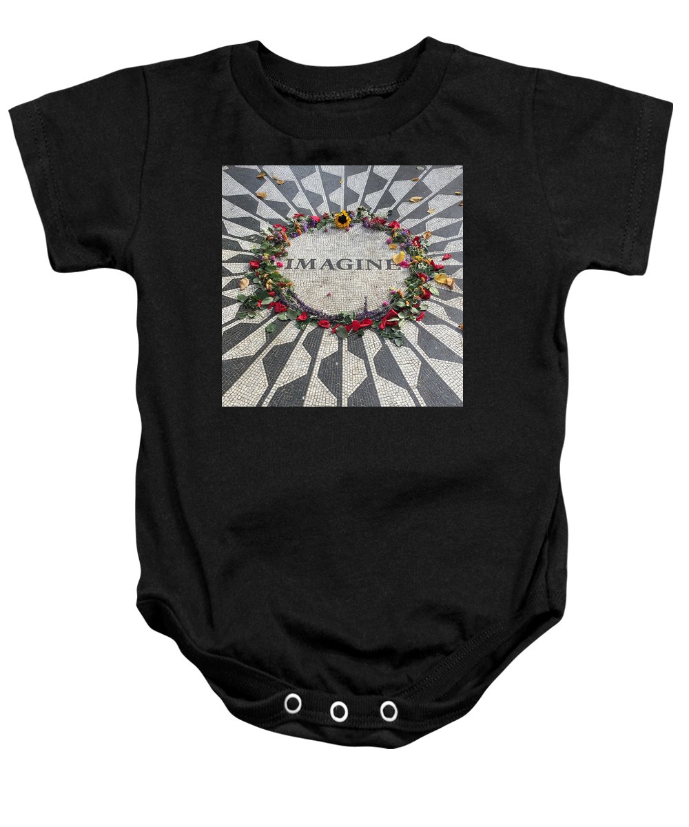 Baby Onesie featuring the photograph Easy If You Try by Mark Etchart