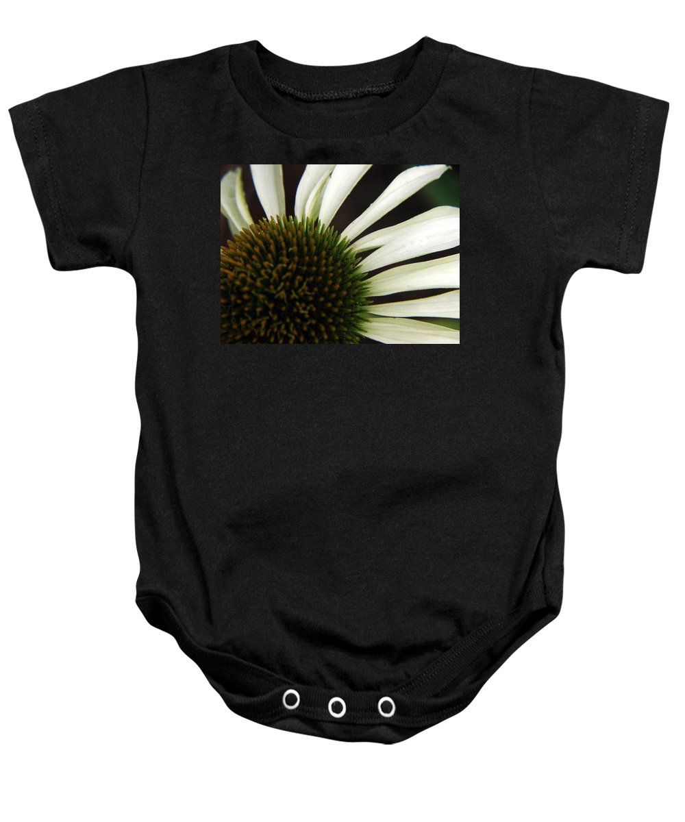 Echinacea Baby Onesie featuring the photograph Echinacea by Priscilla Richardson