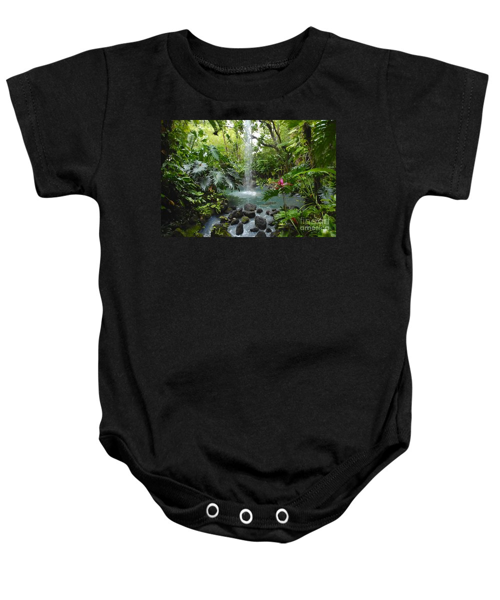 Garden Of Eden Baby Onesie featuring the photograph Eden by David Lee Thompson