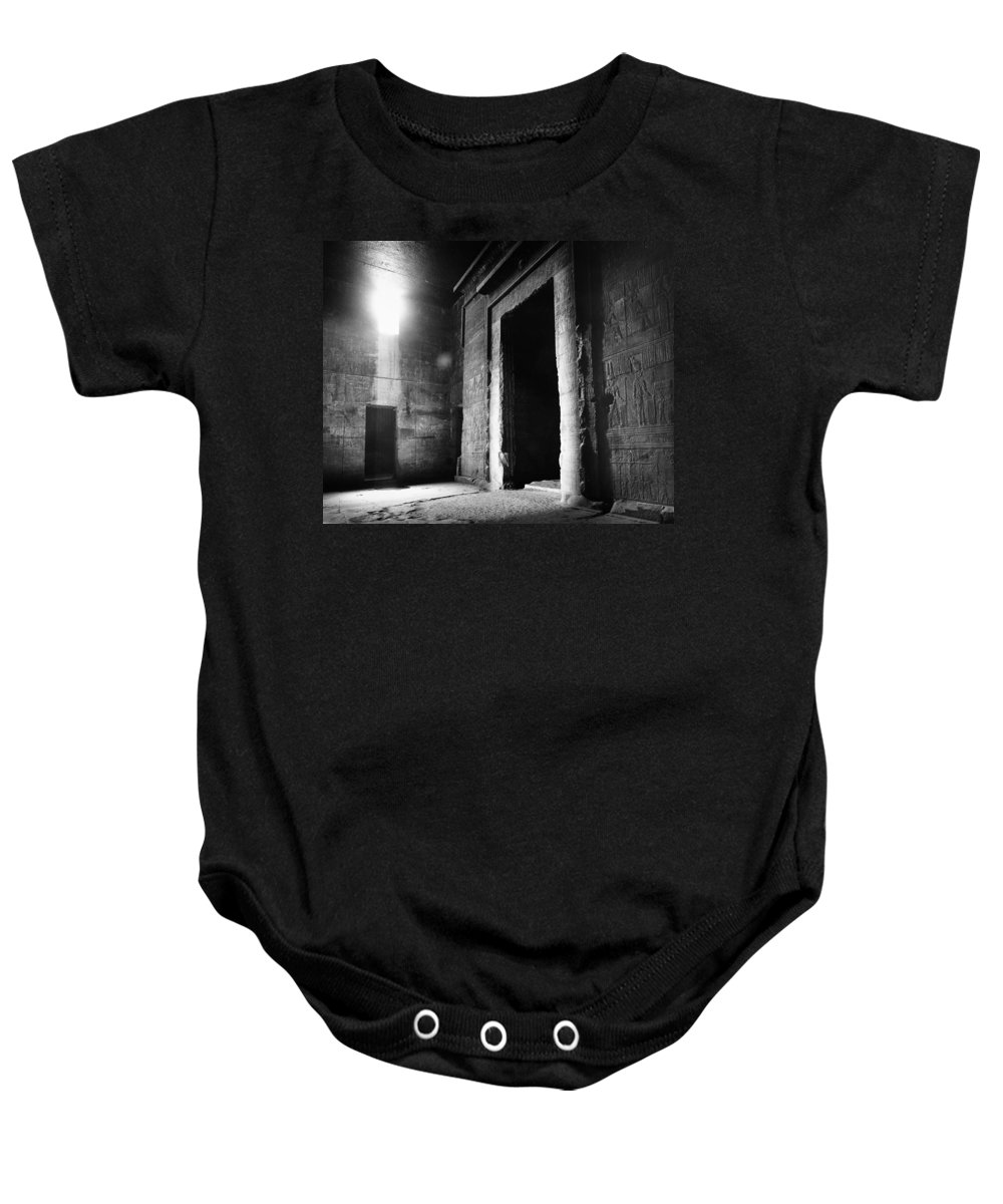 African Baby Onesie featuring the photograph Egypt: Dendera: Temple by Granger