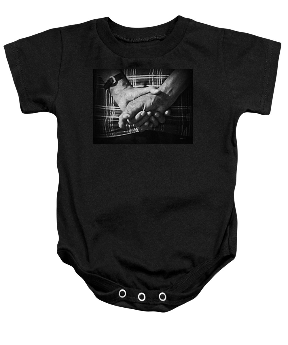 2d Baby Onesie featuring the photograph Elder by Brian Wallace