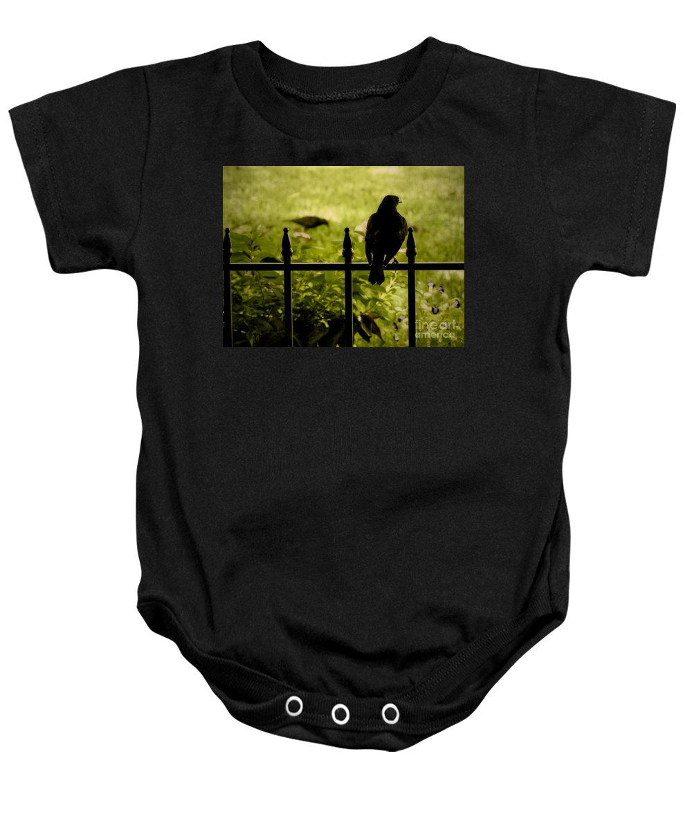 Embrace Baby Onesie featuring the photograph Embrace The Morning by Ella Kaye Dickey